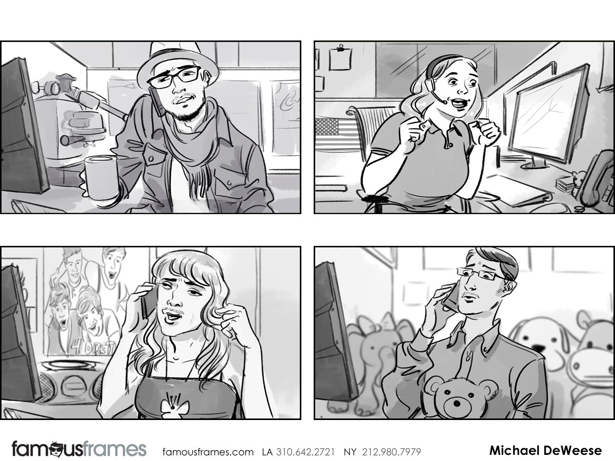 Michael DeWeese's People - B&W Tone storyboard art (Image #172_113_1409786687)