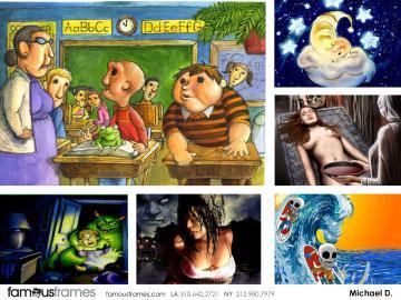 Michael DeWeese's Graphics storyboard art
