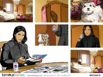 Michael DeWeese's Likenesses storyboard art