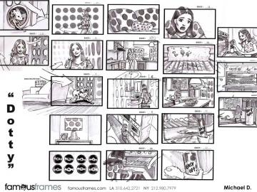 Michael DeWeese's Products storyboard art