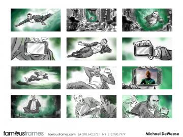 Michael DeWeese's Shootingboards storyboard art