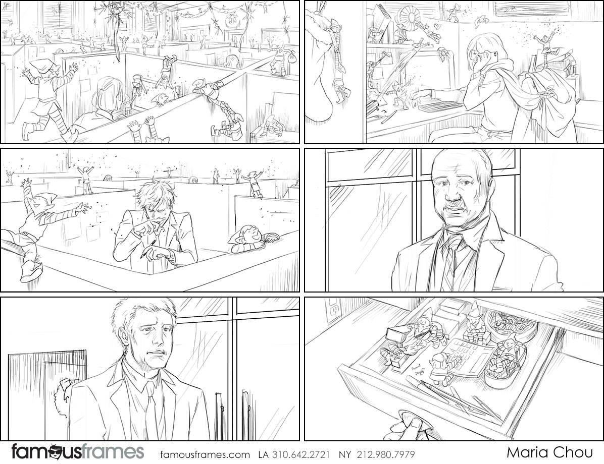 Maria Chou's People - B&W Line storyboard art (Image #17461_114_1536347751)
