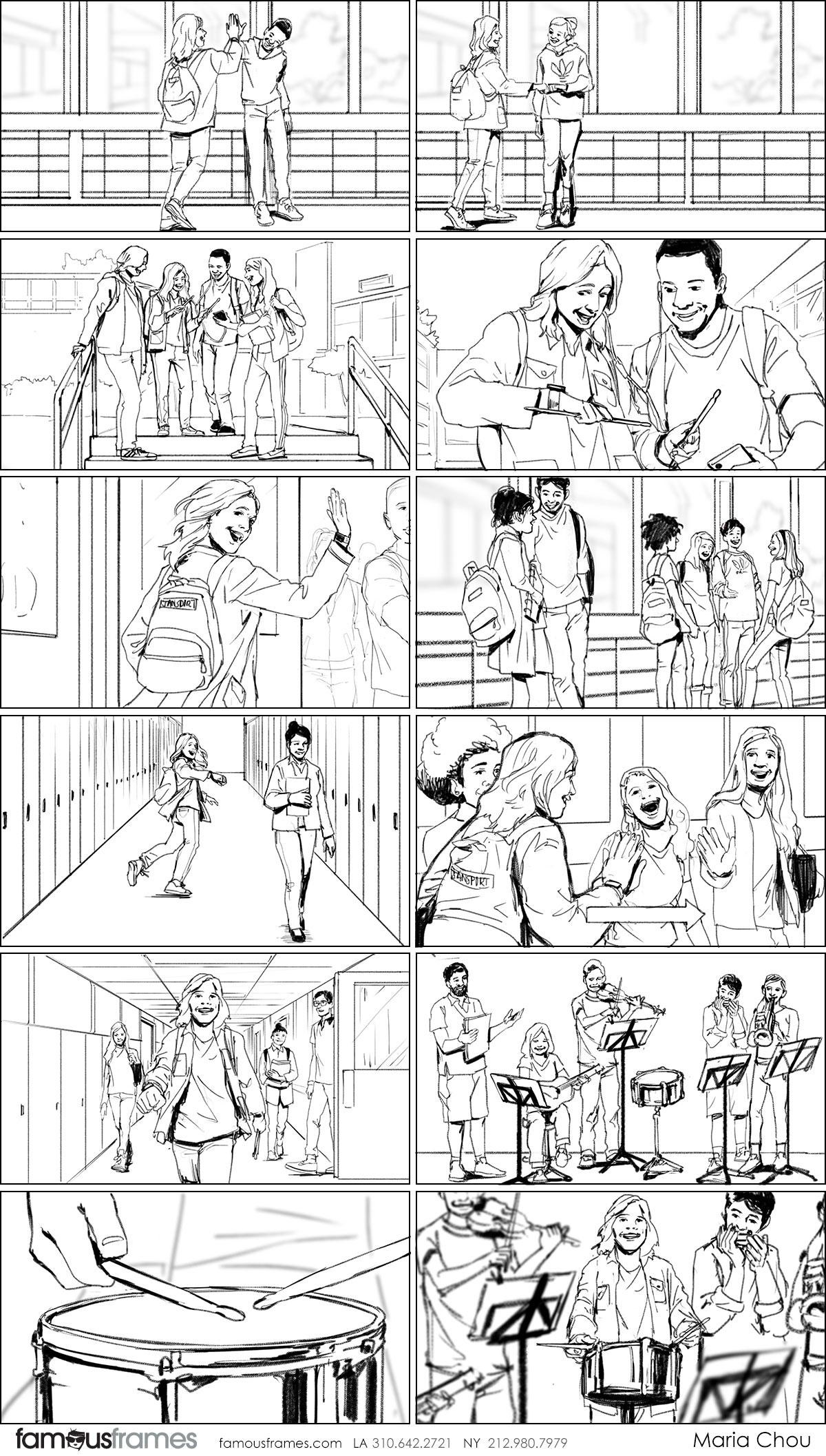 Maria Chou's People - B&W Line storyboard art (Image #17461_114_1583784014)
