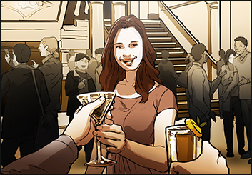Maria Chou's People - Color  storyboard art