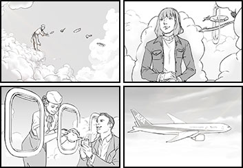 Maria Chou's Shootingboards storyboard art