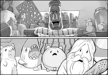 Maria Chou's Characters / Creatures storyboard art