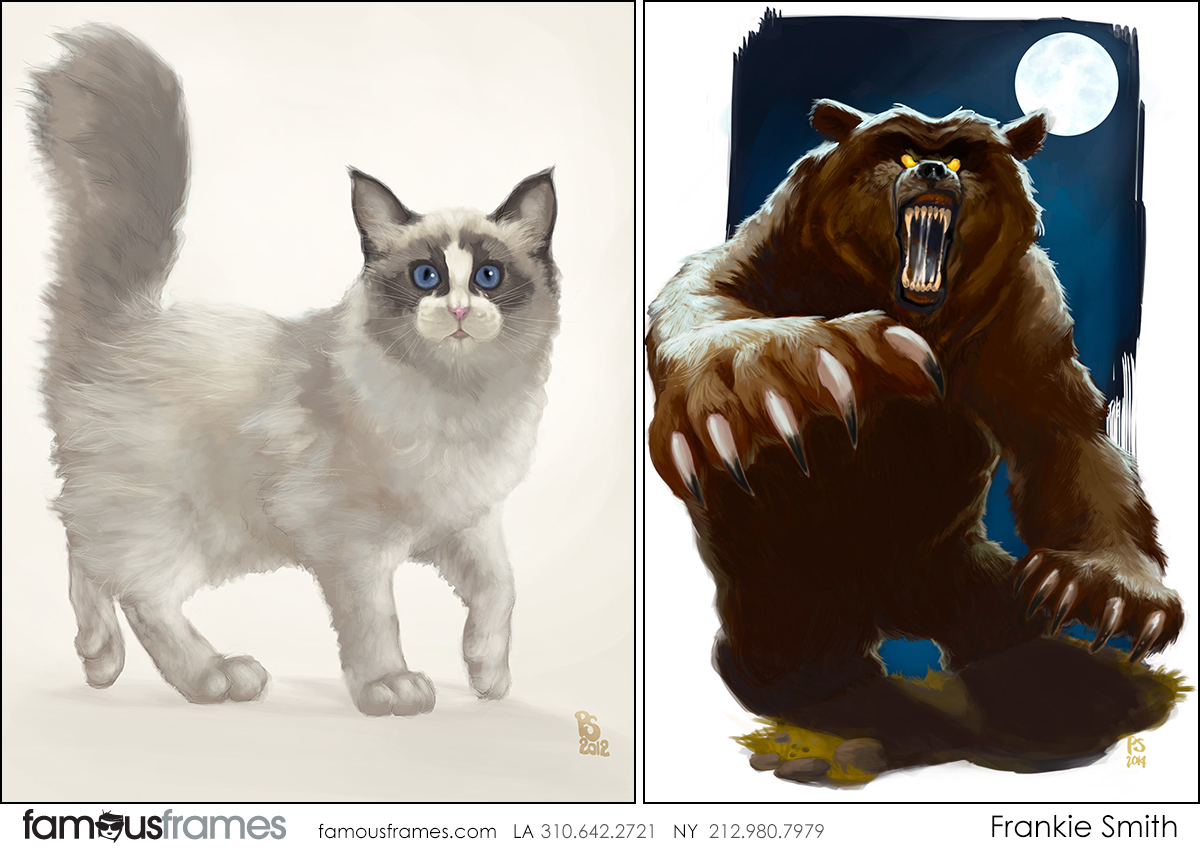 Frankie Smith's Wildlife / Animals storyboard art (Image #17555_6_1582249894)