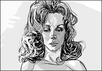 Frankie Smith's People - B&W Tone storyboard art