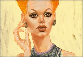 Frankie Smith's Beauty / Fashion storyboard art