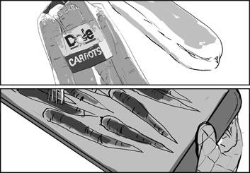 Frankie Smith's Shootingboards storyboard art