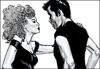 Frankie Smith's Likenesses storyboard art