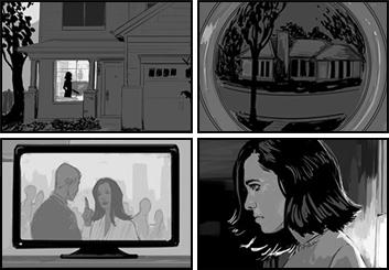 Frankie Smith's Film/TV storyboard art