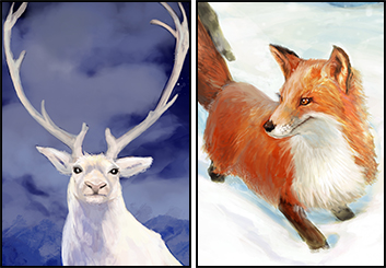 Frankie Smith's Wildlife / Animals storyboard art