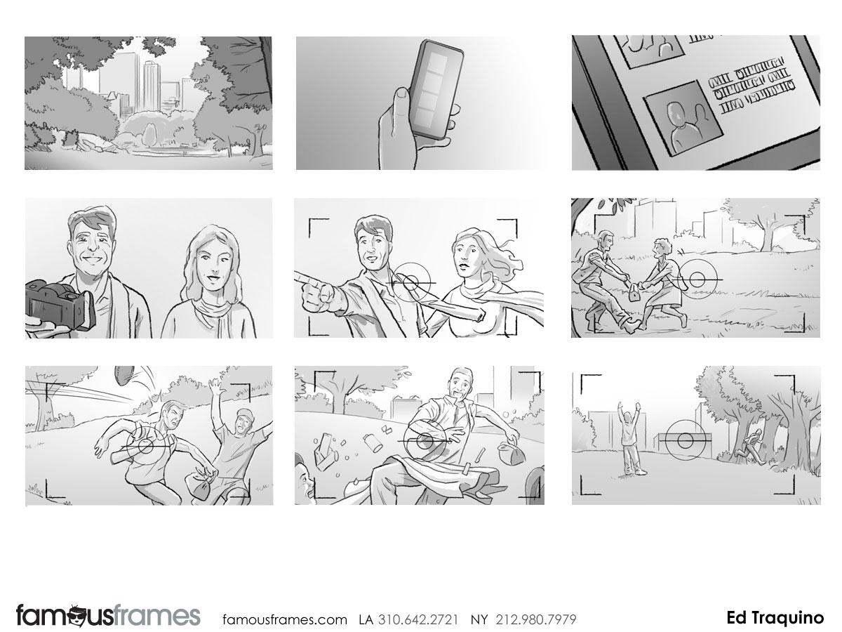Ed Traquino's People - B&W Tone storyboard art (Image #177_113_1385059612)