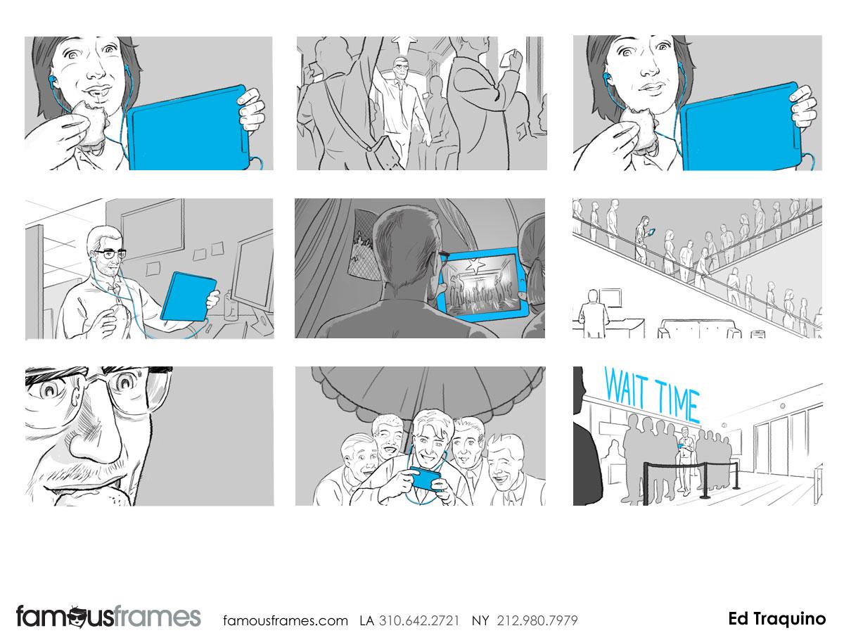 Ed Traquino's People - B&W Tone storyboard art (Image #177_113_1385059630)