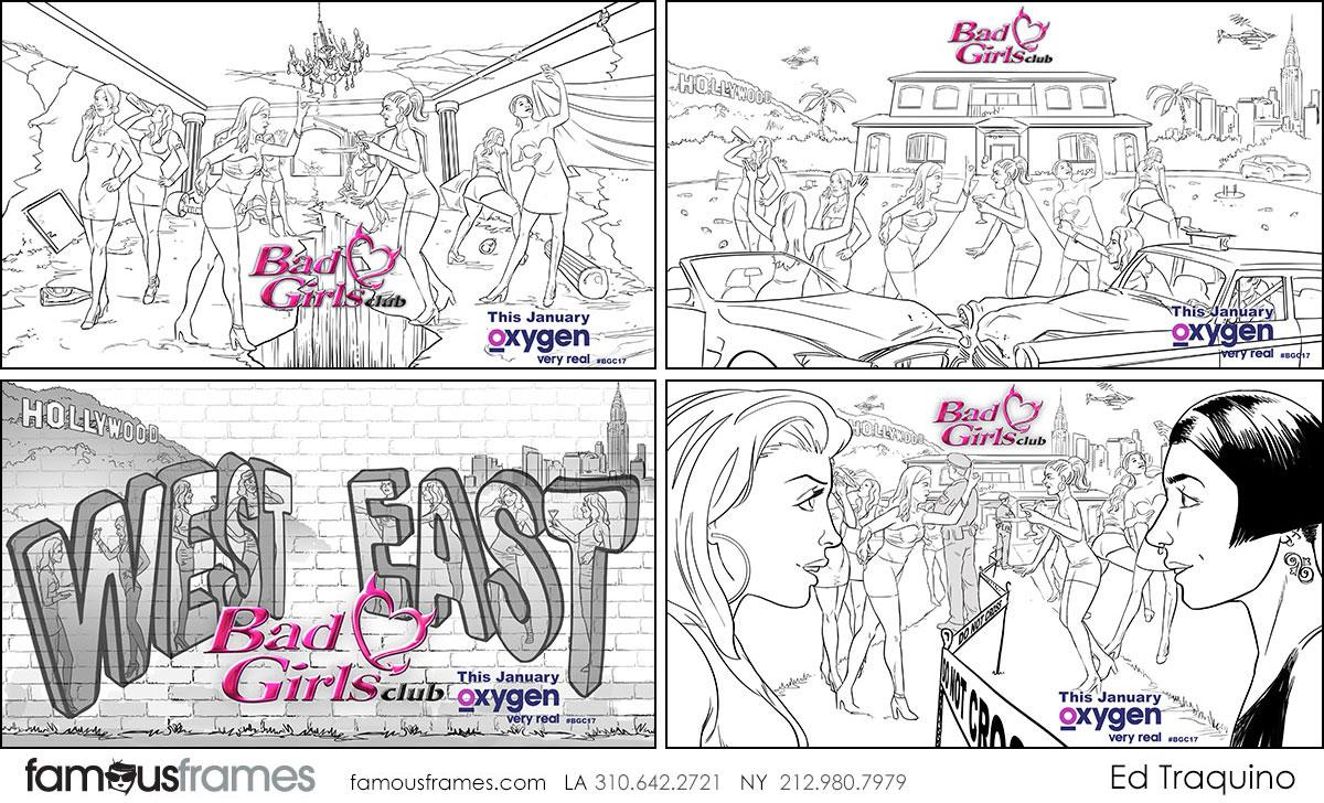 Ed Traquino's People - B&W Line storyboard art (Image #177_114_1502828678)