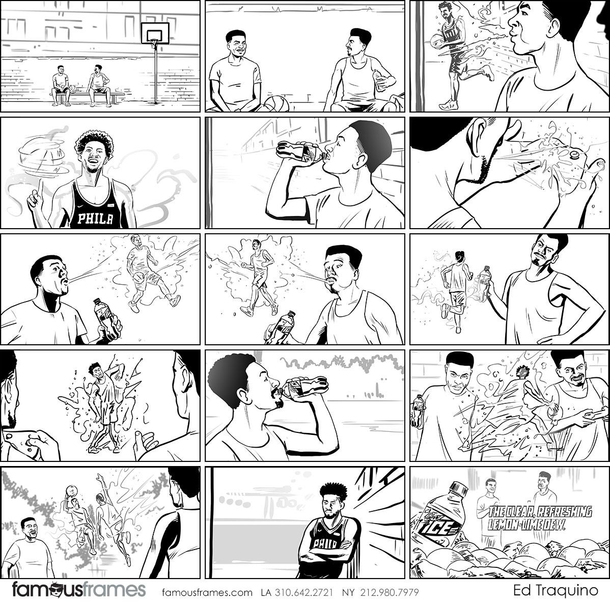 Ed Traquino's People - B&W Line storyboard art (Image #177_114_1554402166)