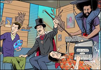 Ed Traquino's Key Art / Posters storyboard art