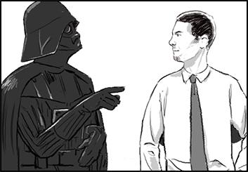 Ed Traquino's Characters / Creatures storyboard art