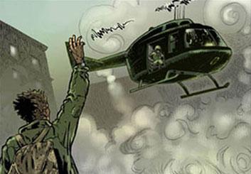 Ed Traquino's Environments storyboard art