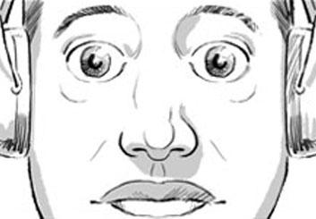 Ed Traquino's People - B&W Tone storyboard art
