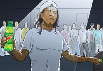 Ed Traquino's People - Color  storyboard art