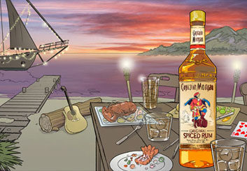 Ed Traquino's Products storyboard art