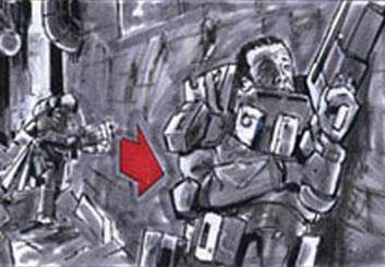 Ed Traquino's Sci-Fi storyboard art