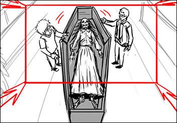 Stefania Gallico's Shootingboards storyboard art