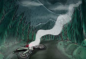 Stefania Gallico's Environments storyboard art