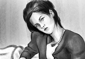 Stefania Gallico's Likenesses storyboard art