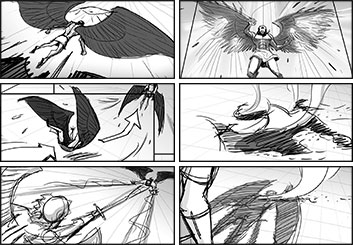 Stefania Gallico's Shootingboards storyboard art