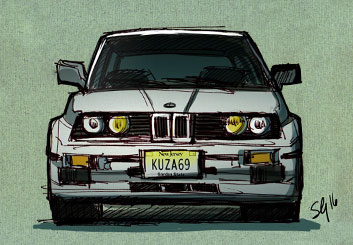 Stefania Gallico's Vehicles storyboard art