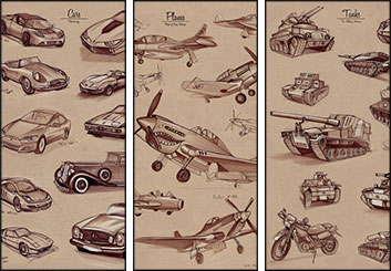 Stefania Gallico's Vehicles storyboard art