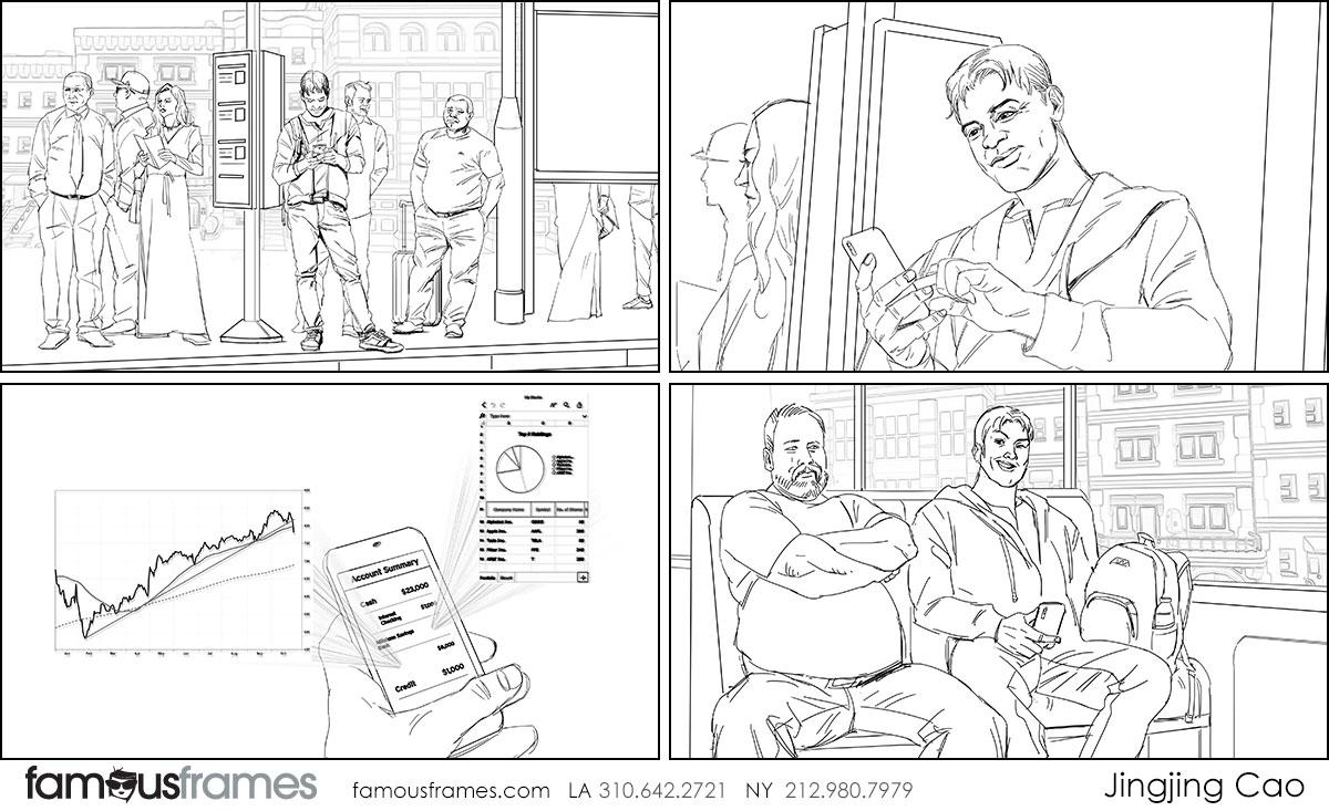 Jingjing Cao's People - B&W Line storyboard art (Image #19827_114_1578604194)