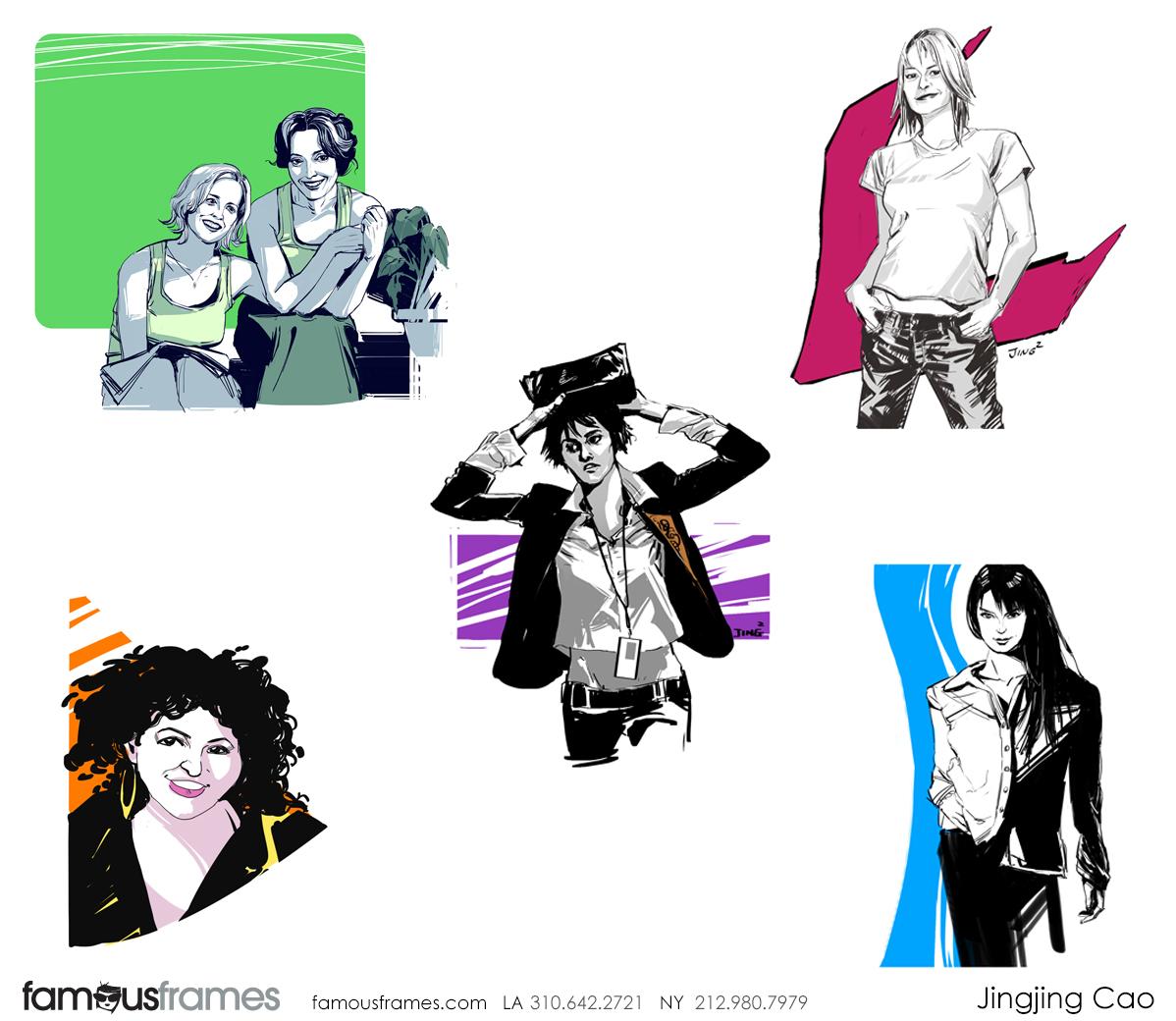 Jingjing Cao's People - B&W Line storyboard art (Image #19827_114_1586396208)