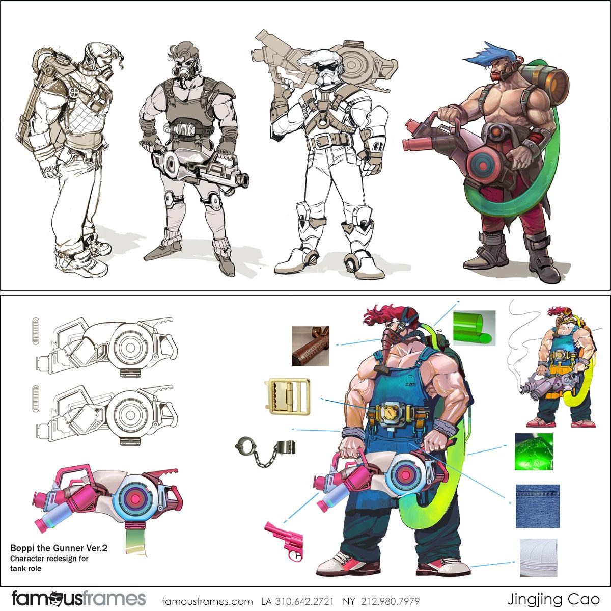 Jingjing Cao's Characters / Creatures storyboard art (Image #19827_25_1572392120)