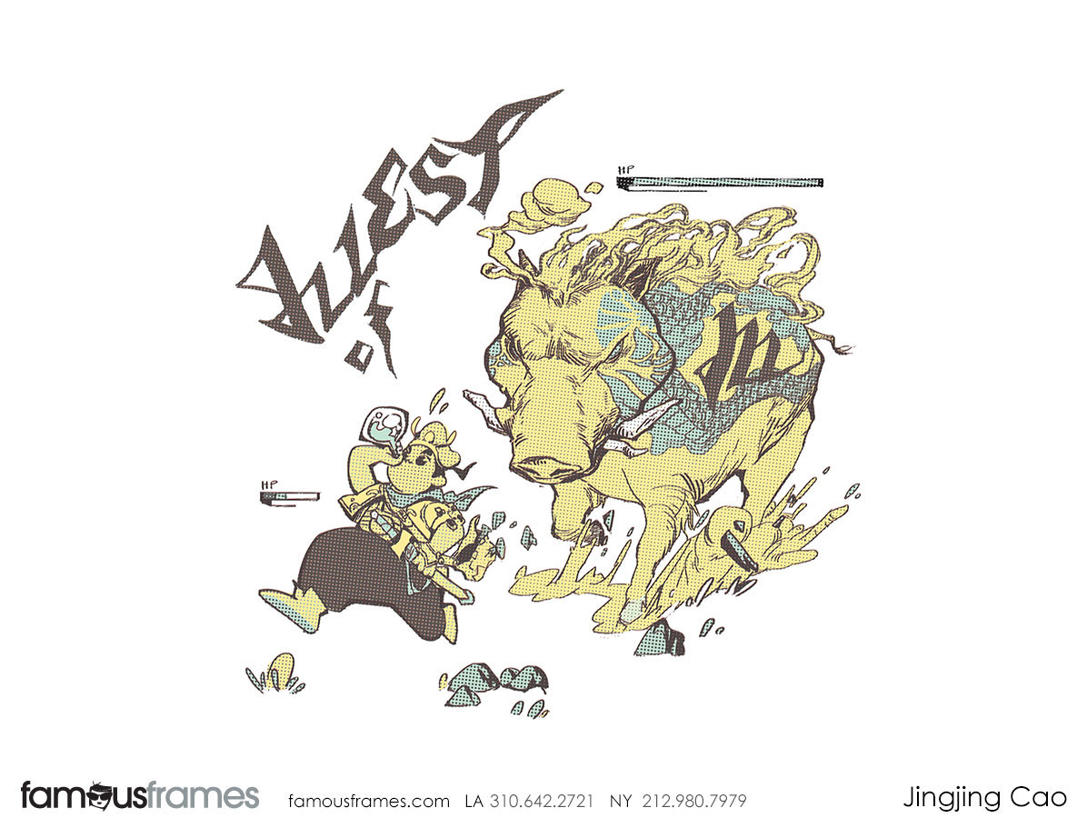 Jingjing Cao's Characters / Creatures storyboard art (Image #19827_49_1551830700)