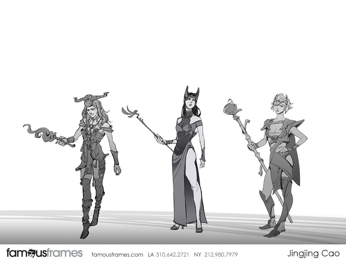 Jingjing Cao's Characters / Creatures storyboard art (Image #19827_8_1551831604)