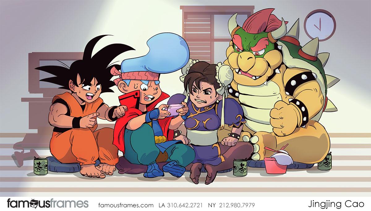 Jingjing Cao's Characters / Creatures storyboard art (Image #19827_8_1572394673)