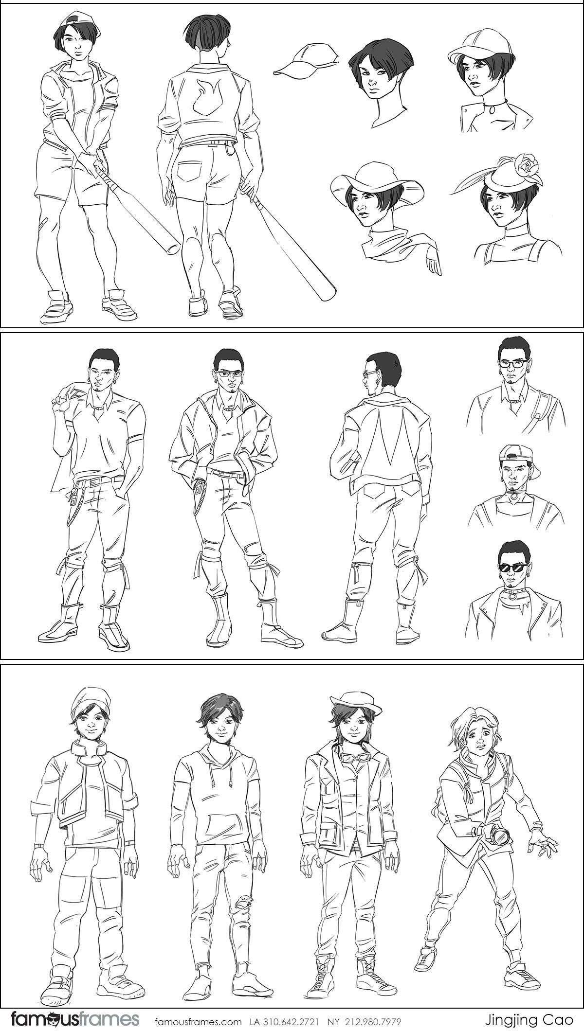 Jingjing Cao's Characters / Creatures storyboard art (Image #19827_8_1602776643)