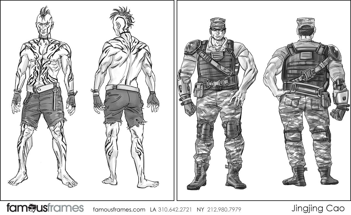 Jingjing Cao's Characters / Creatures storyboard art (Image #19827_8_1602776926)