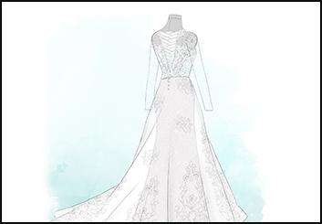 Jingjing Cao's Beauty / Fashion storyboard art