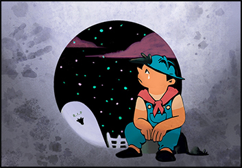 Jingjing Cao's Graphics storyboard art