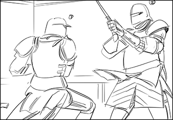 Jingjing Cao's Shootingboards storyboard art