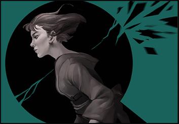 Jingjing Cao's Illustration storyboard art