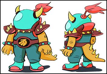 Jingjing Cao's Characters / Creatures storyboard art