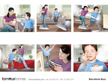Barcelona Boys's Kids storyboard art