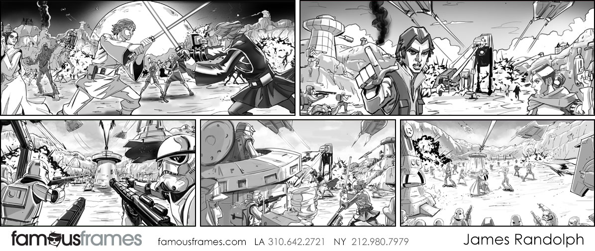 James Randolph*'s Characters / Creatures storyboard art (Image #21233_4_1561597000)