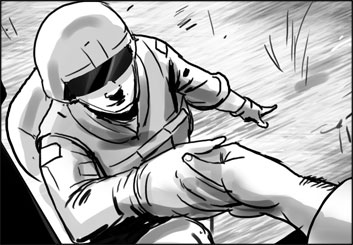James Randolph*'s People - B&W Tone storyboard art